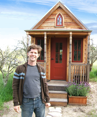 """small spaces   Style Studio    Tiny House Company and one of the founding members of the Small House Society  He has lived in the """"Epu""""  an square foot plan he created  since"""